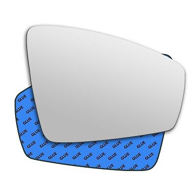 Right Side Wing Mirror Glass For VOLKSWAGEN TIGUAN 2007-2015 Convex  #309