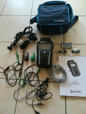 Metrel MI 3309 BT PAT TESTER IN BAG WITH ACCESSORIES SUPER CONDITION