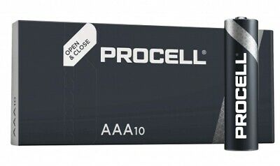 Duracell Procell Alkaline LR3 Micro AAA Batterie MN 2400 1,5V 10 St. (Box)