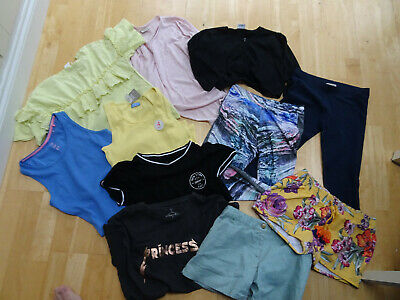NEXT girls 11 piece summer clothes bundle shorts leggings t shirt AGE 12 YEARS e