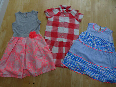 NUTMEG GAP GEORGE girls 3 PACK summer dresses bundle AGE 11 - 12 YEARS