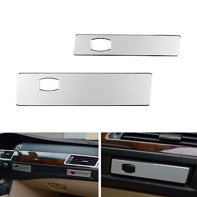 Car Co-pilot Water Cup Holder Panel Cover Trim For BMW 5 series E60 06-10 SL T1