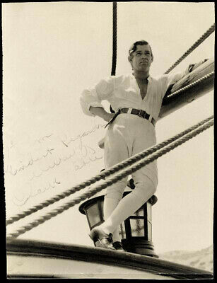Clark Gable - Autographed Inscribed Photograph