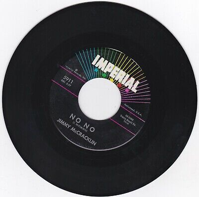 Northern Soul 45 - Jimmy Mccracklin On Imperial - No No - Sound Clip Available