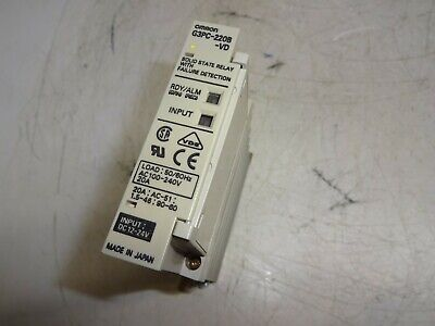 Omron G3Pc-220B-Vd Solid State Relay