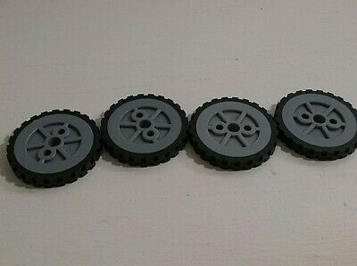 "KNEX WHEELS 16 Small 1/"" Plastic Tires 1 Inch Replacement Parts//Pieces Wheel Lot"