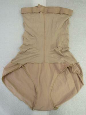 (NWOT SPANX by SARA BLAKELY NUDE HIGH POWER BRIEF BODY SHAPER sz E)