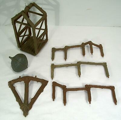 Vintage Kenner Star Wars ROTJ Ewok Village Playset Parts Railings, Elevator 1983