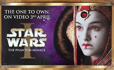 Set Of 2 Star Wars The Phantom Menace Video Display Posters Darth Maul Episode 1