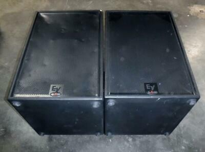 *Lot Of 2* Electro Voice SxA180 Powered Subwoofer 650 Watts W/ Speaker Cover