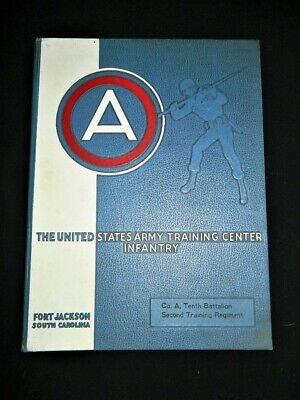 1956 Military Yearbook USA ARMY Training Infantry Fort Jackson South Carolina