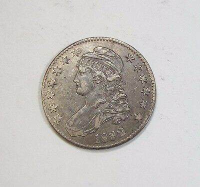 1832 Capped Bust/Lettered Edge Half $ EXTRA FINE Silver 50c