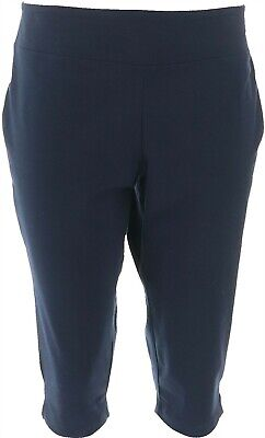 Wicked Women Control Petite Pedal Pusher Side Slits Night Sky PM NEW A352759
