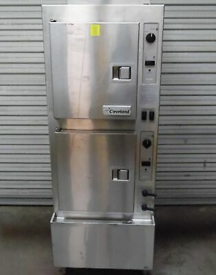 Cleveland 24CGA10 Nat Gas SS Double Convection Steamer