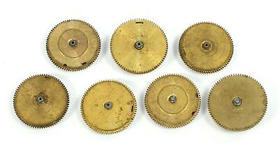 POCKET WATCH MAINSPRINGS with BARRELS - FOR PARTS OR STEAMPUNK ART TB894
