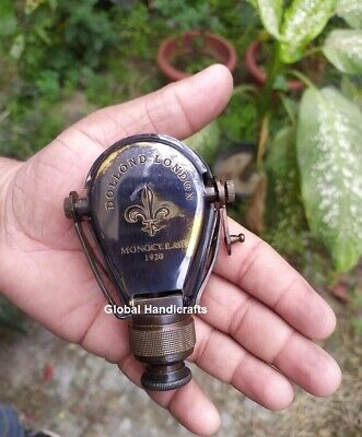 Nautical Antique Brass Maritime Dollond London Vintage Gift Pocket Monocular