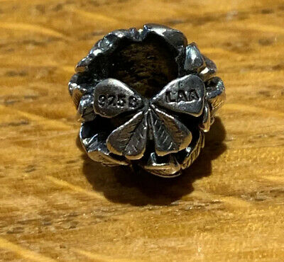 Trollbead RARE Clover Bead From Germany LE Very Hard To Find