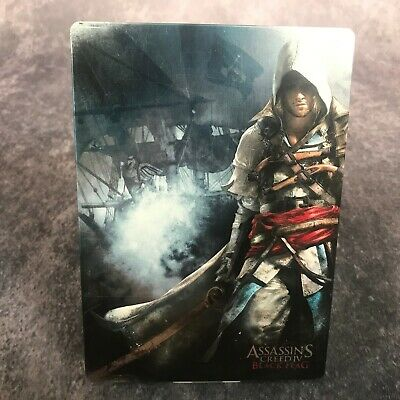 Assassin's Creed IV Black Flag Steelbook Rare Case Box *No Game* Xbox One PS4