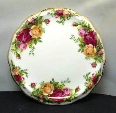 Lovely Very Rare Royal Albert Old Country Roses Teapot Stand SU936