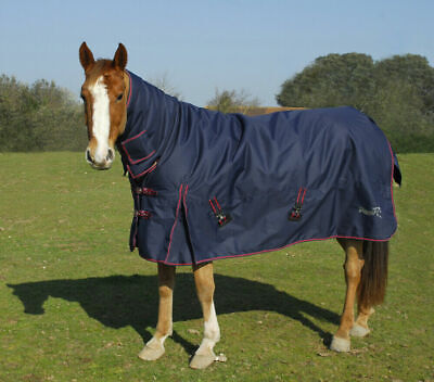 1200D HORSE TURNOUT COMBO RUG HEAVY WEIGHT SUPER THICK OUTER 350 gram NAVY