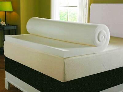 MATTRESS Topper with Cover Double Visco Therapy (3 Inch) Deep Memory Foam