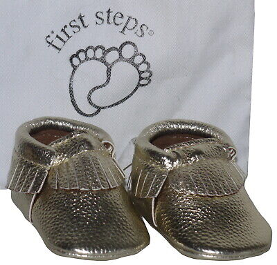 First steps Baby Shoes, Moccasins Size 1 (0-6mths) NIB