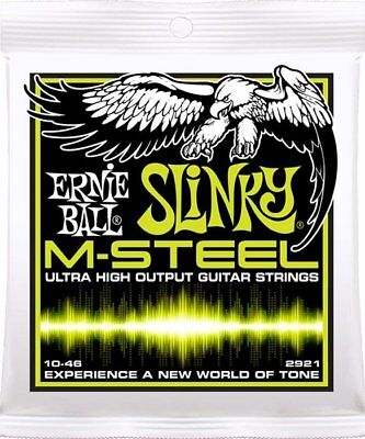 Ernie Ball 2921 M-Steel Regular Slinky Electric strings 10-46