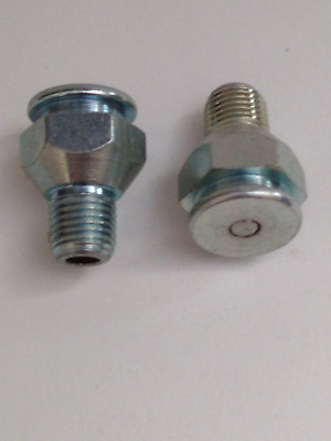 """1/4"""" NPT GIANT BUTTON HEAD Grease Fitting  1 Pc"""