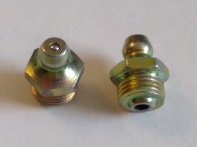 1/8-27  NPT Straight Grease Fittings 10 Pcs. Condition is New