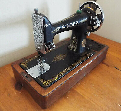 Vintage Singer Sewing Machine No 99 - no crank/case - former electric conversion