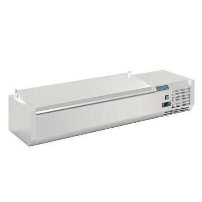 Polar Refrigerated Servery Topper - 5 x GN 1/4 - 1.2m
