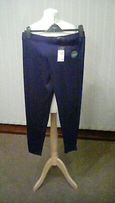 Womens Black/Navy Joggers/Jogging Bottoms Primark NEW W/TAGS Size 16