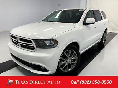2018 Dodge Durango GT Texas Direct Auto 2018 GT Used 3.6L V6 24V Automatic RWD SUV