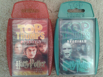 TOP TRUMPS Winning Moves | SEALED - HARRY POTTER GOBLET OF FIRE / ORDER PHOENIX