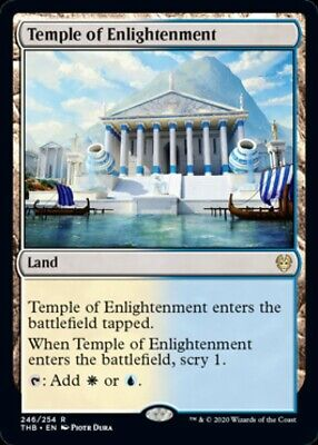 Theros Beyond Death - TEMPLE OF ENLIGHTENMENT rare Magic the Gathering card