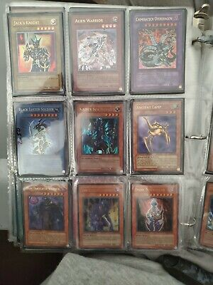 yugioh card binder (All holographic, NM, M, and a couple LP, 321 cards total)