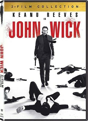 JOHN WICK 2 FILM COLLECTION New Sealed 2 DVD Chapter 1 + 2