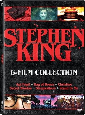 STEPHEN KING 6 FILM COLLECTION New DVD Christine Sleepwalkers Stand by Me