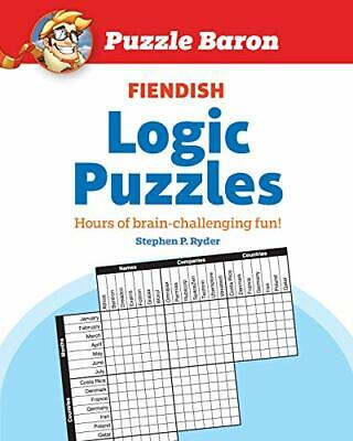 Puzzle Barons Fiendish Logic Puzzles by Puzzle Baron