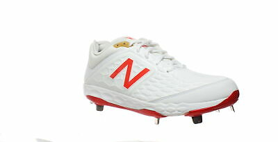 New Balance Mens L3000as4 White Baseball Cleats Size 10.5 (592726)