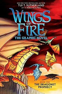 A Graphix Book: Wings of Fire Graphic Novel #1: The Dragonet Prophecy-Tui T. Sut