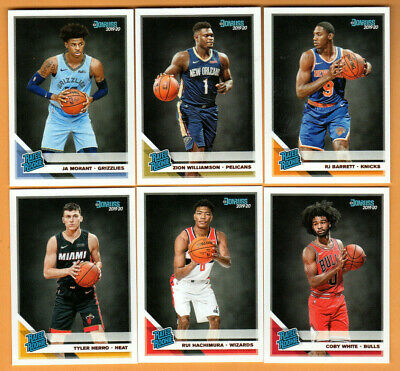 2019/20 Donruss Basketball - Complete Set - cards 1-250 + Relic Card