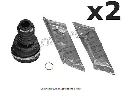 For BMW E30 early Axle Boot KIT Rear Inner L+R x2 C//V Joint CV Constant Velocity