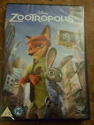 Zootropolis [DVD] [2016] - DVD  New And Sealed On Region 2