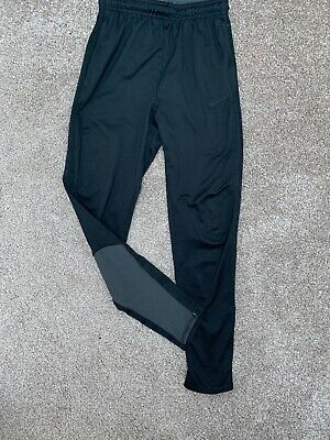 Fab Pair Of Boys Nike Dri Fit Black Slim Fit Joggers Age 12-13 Years