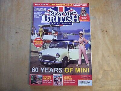 Best Of British Past And Present Magazine  August 2019