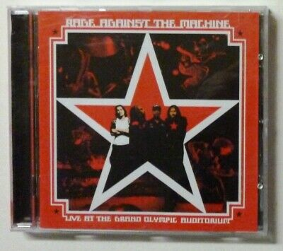 Cd Rage Against The Machine Live At The Grand Olympic Auditorium