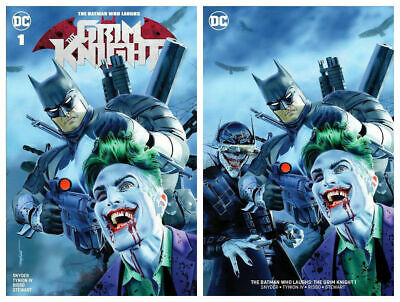 Batman Who Laughs The Grim Knight #1 Mike Mayhew Variant Set Ltd 700