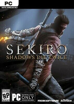 Sekiro Shadows Die Twice PC Steam READ DESCRIPTION!
