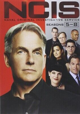 NCIS NAVAL CRIMINAL INVESTIGATIVE SERVICE SEASONS 5 6 7 8 New Sealed DVD 5-8
